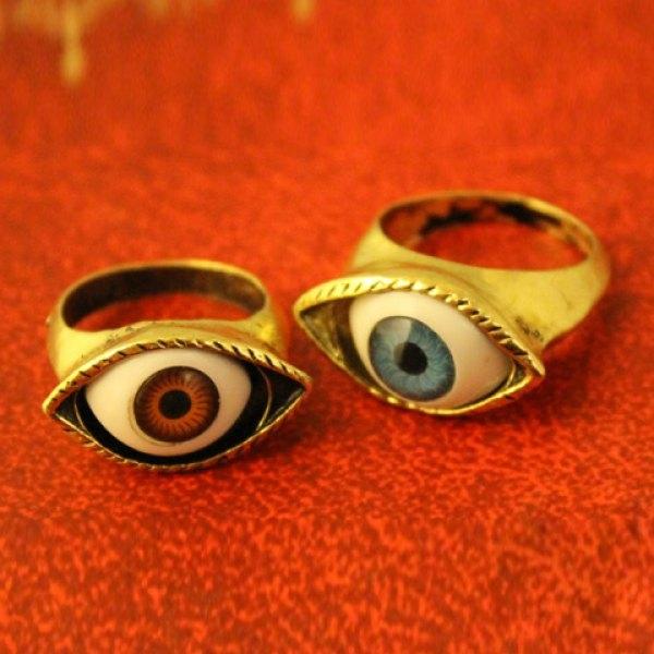 1.53$  Buy now - http://dikcj.justgood.pw/go.php?t=YE1325301 - Vintage Eye Shaped Ring