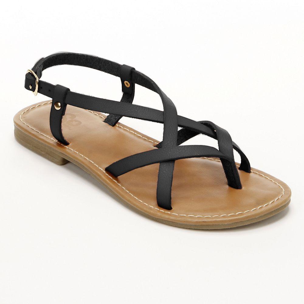 Black sandals kohls - Black Sandals
