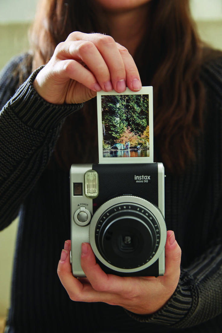 Fujifilm Instax Mini 90 Black Camera Polaroid Photography Polaroid Pictures Camera Photography