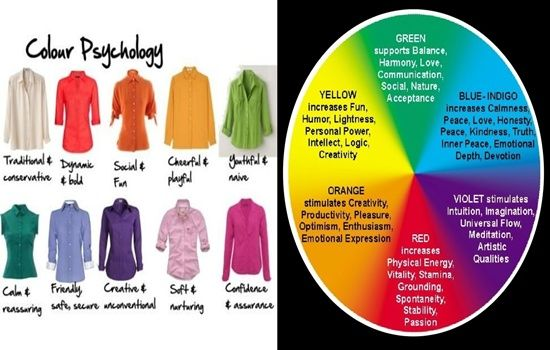 Surprising Psychological Effects of the Colors You Wear - Your favorite colors and the colors you pick to put on say more about you than you know like ...