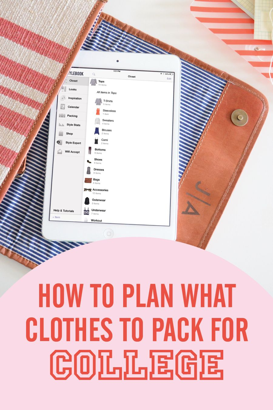 What Clothes to Pack for College College packing