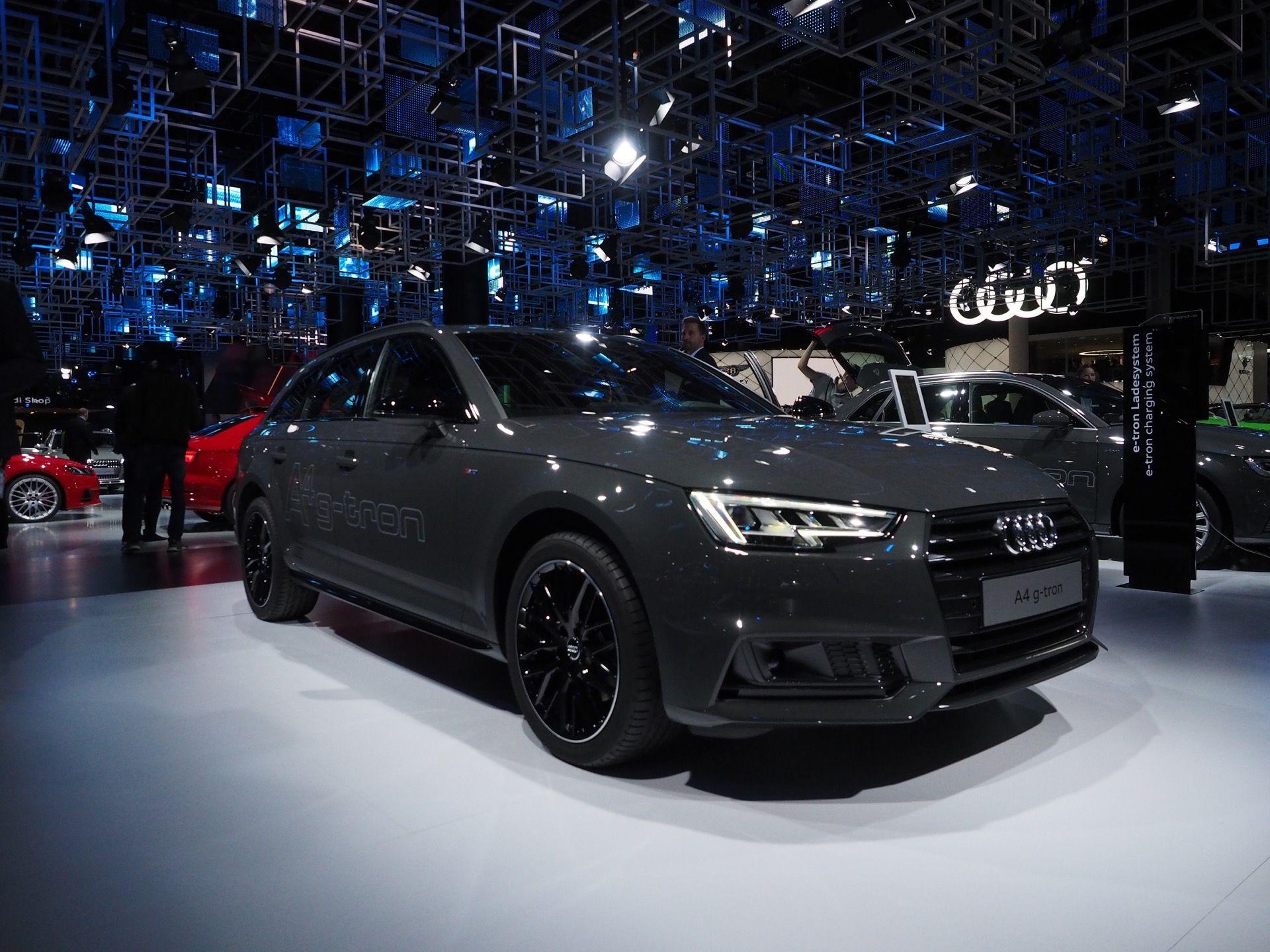 2017 Frankfurt Motor Show Live Photos Audi A4 And Audi A5 Sportback G Tron Audi A5 Audi A5 Sportback Audi