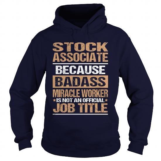 StockAssociate  Job Shirts    College Gifts Gift