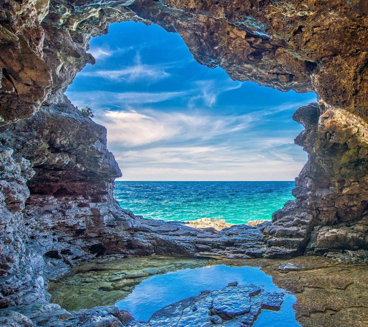 Download Sea Cave wallpaper by darcoolio 5d Free on
