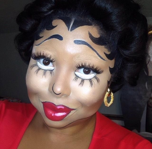Betty Boop Hairstyle Betty Boop Makeup  Theatrical Makeup Hair & Wigs  Pinterest