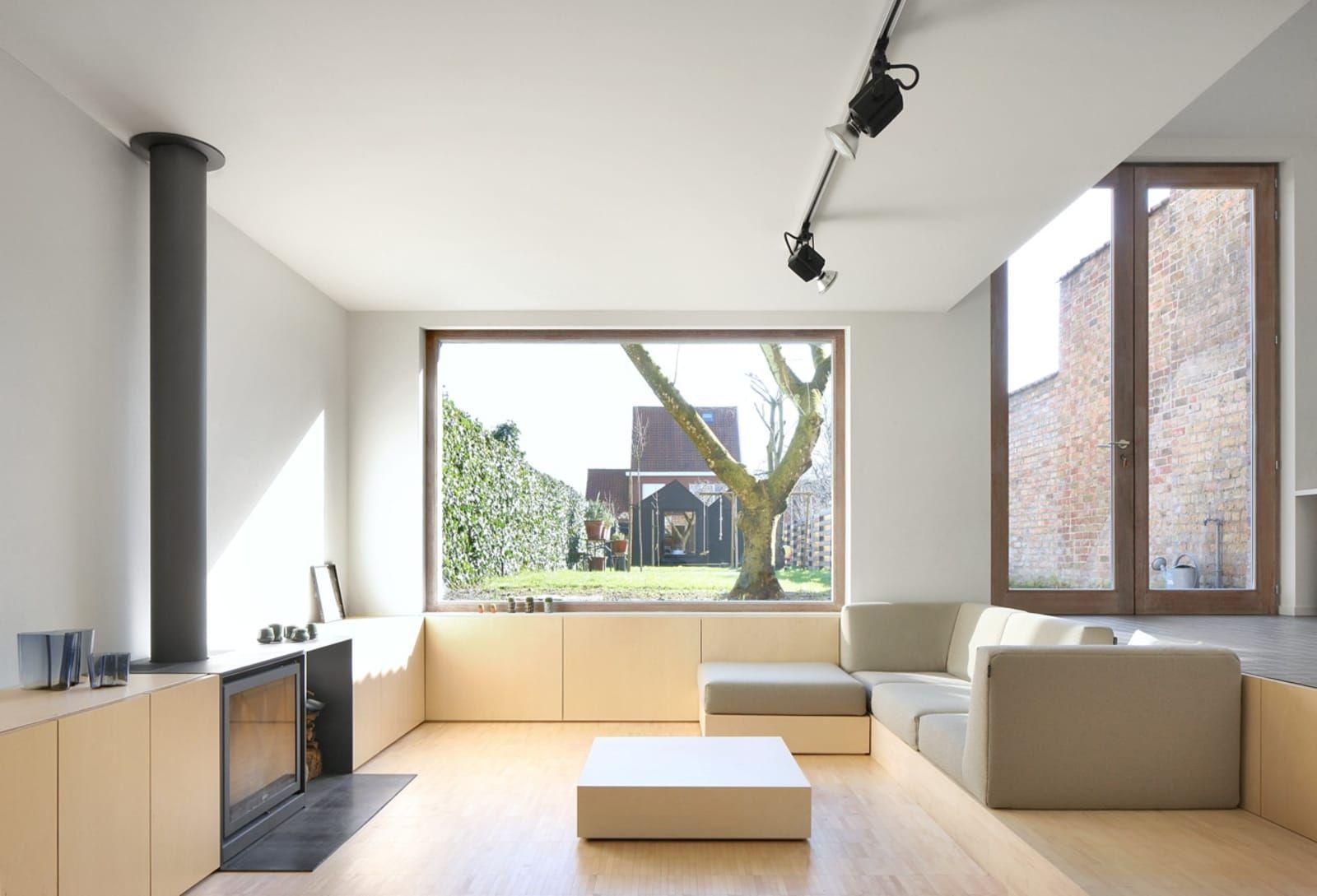 urbain architectencollectief filip dujardin reconversion of a modernistic house elements. Black Bedroom Furniture Sets. Home Design Ideas