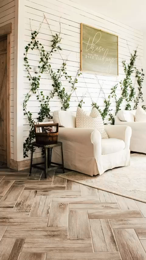 Photo of Attractive Indoor Vine Wall Decor