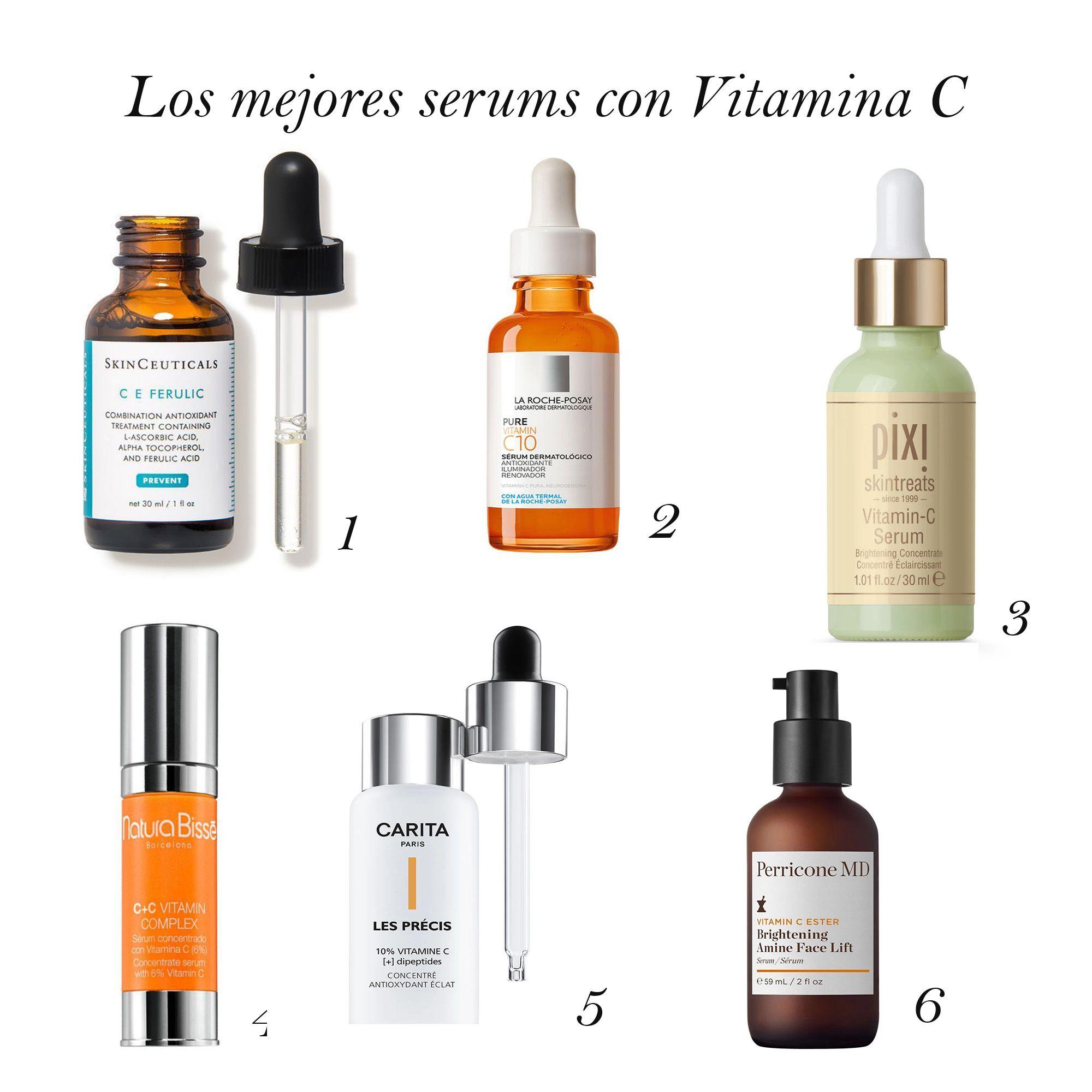 Los Mejores Serums Con Vitamina C Vitamina C Vitamina E Serum