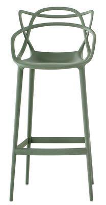 Chaise De Bar Masters H 75 Cm Polypropylene Kartell Bar Stools Patio Bar Stools Philippe Starck
