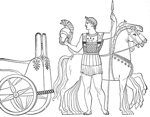 Ancient Olympics Chariot Racer and other FREE images of greek