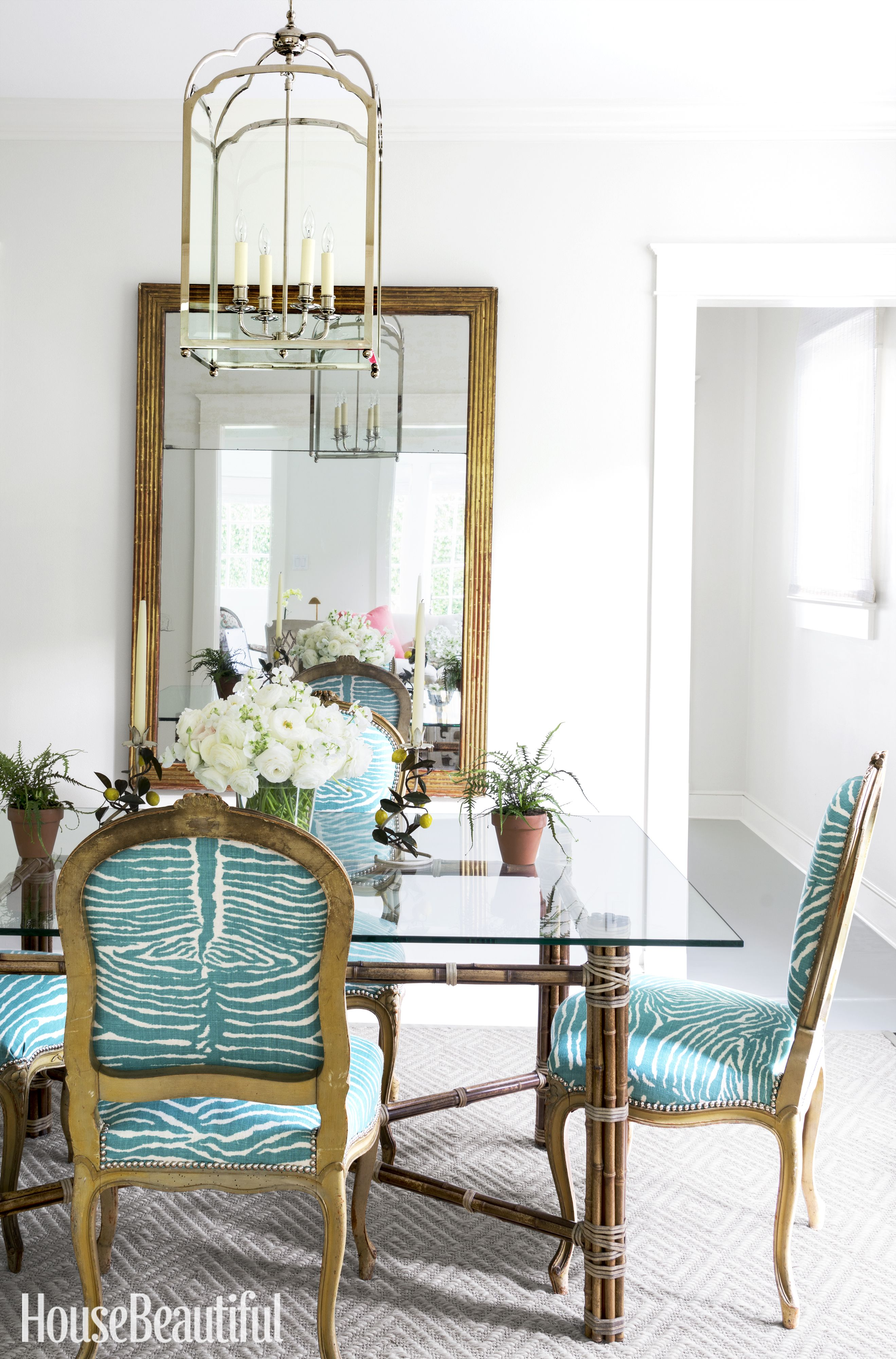 Designer Dining Room Furniture: Inside A Tiny Florida Cottage Full Of Tropical Colors