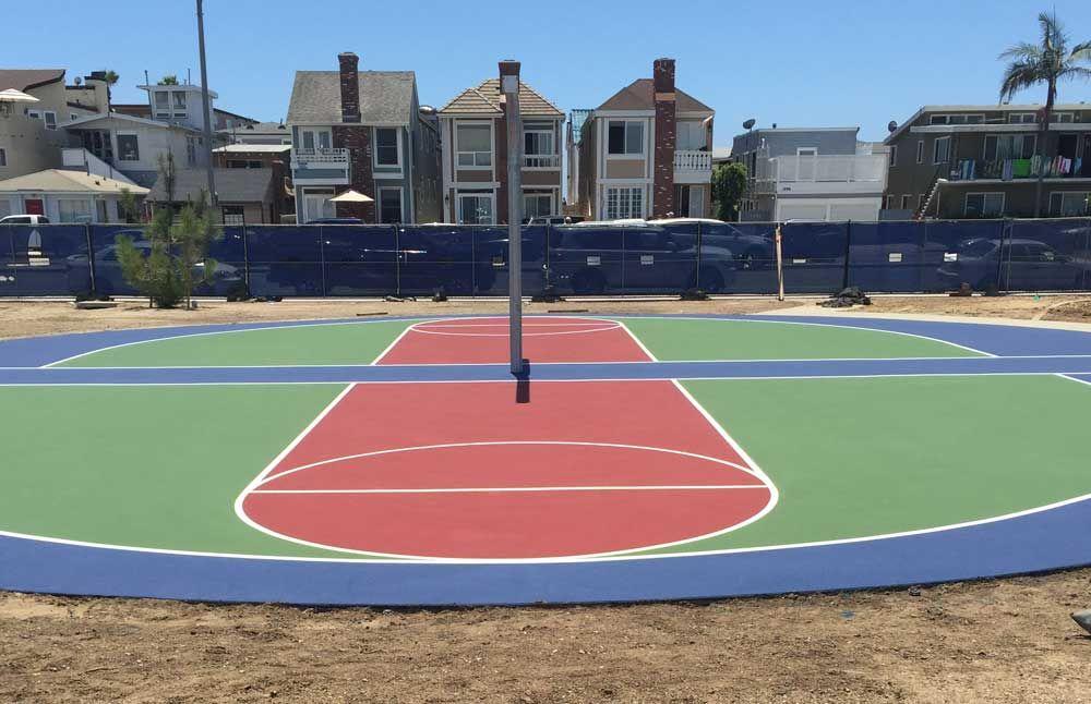 Round Basketball Court Construction Basketball Court Court Basketball