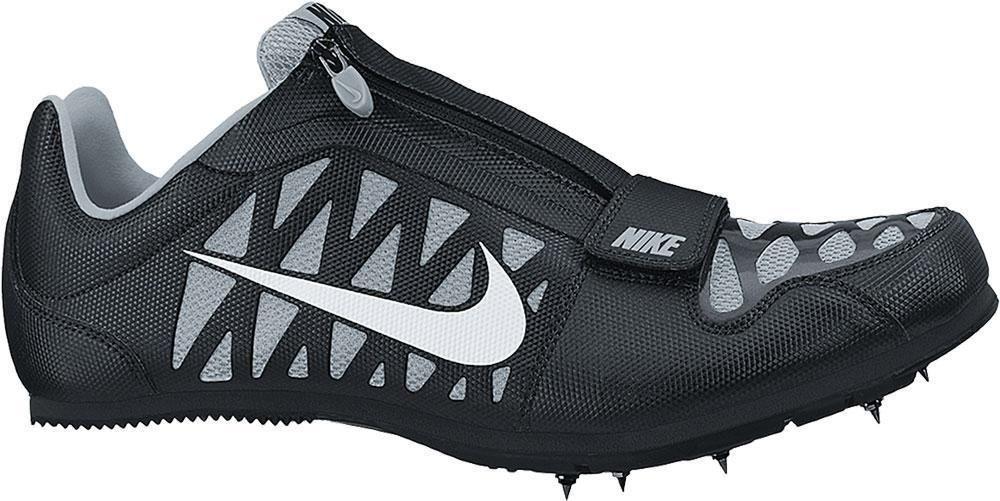 brand new 90832 d8014 NIKE ZOOM LJ 4 IV Long Jump TRACK FIELD SPIKES MENS Black Grey 415339 002  NEW  Nike  TrackCleats
