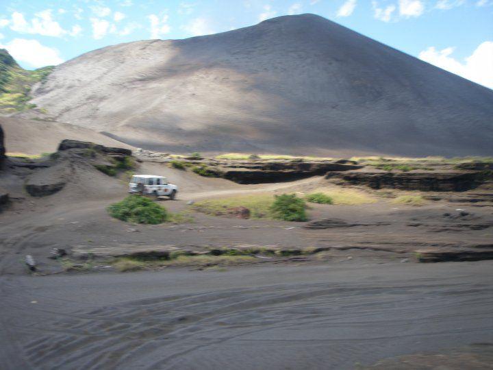 Tanna Island volcano