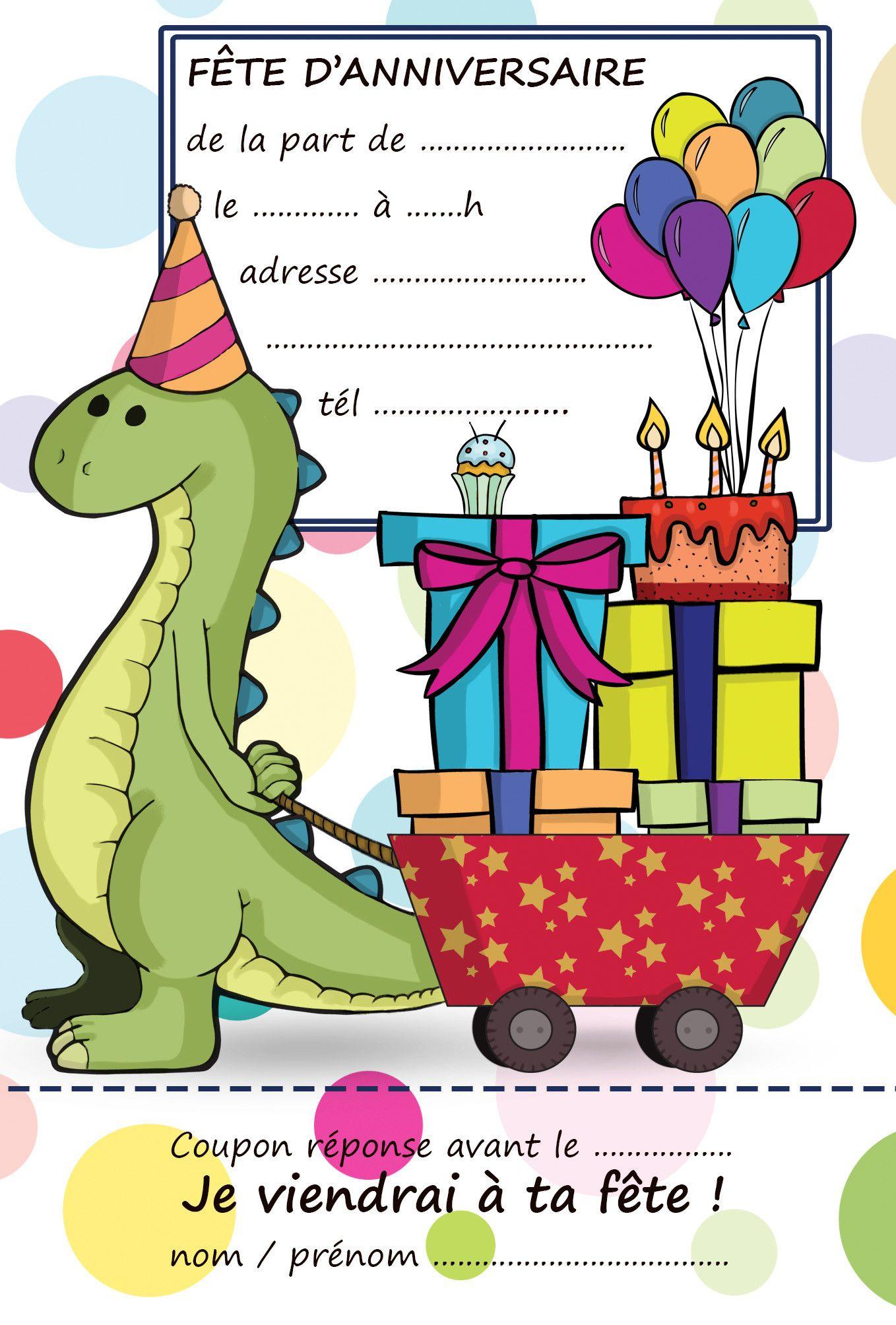 Carte D Anniversaire A Imprimer Dinosaure Beautiful Invitation Annivers Anniversaire Dinosaure Carte Anniversaire A Imprimer Invitation Anniversaire A Imprimer