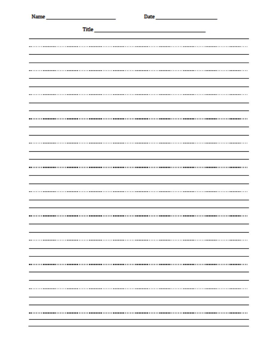 medium resolution of The Idea Backpack: Freebie - Editable Handwriting Paper   Primary writing  paper