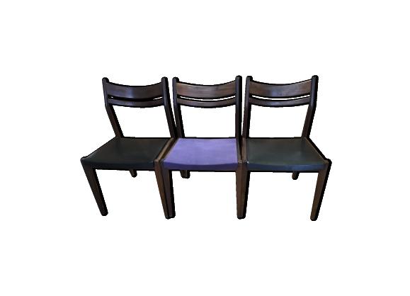 60 2019Chaise chaises années 70 de 3 en Lot scandinaves 5LqA3cRS4j