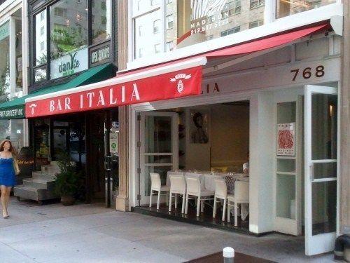 Bar Italia, Madison Avenue, NYC