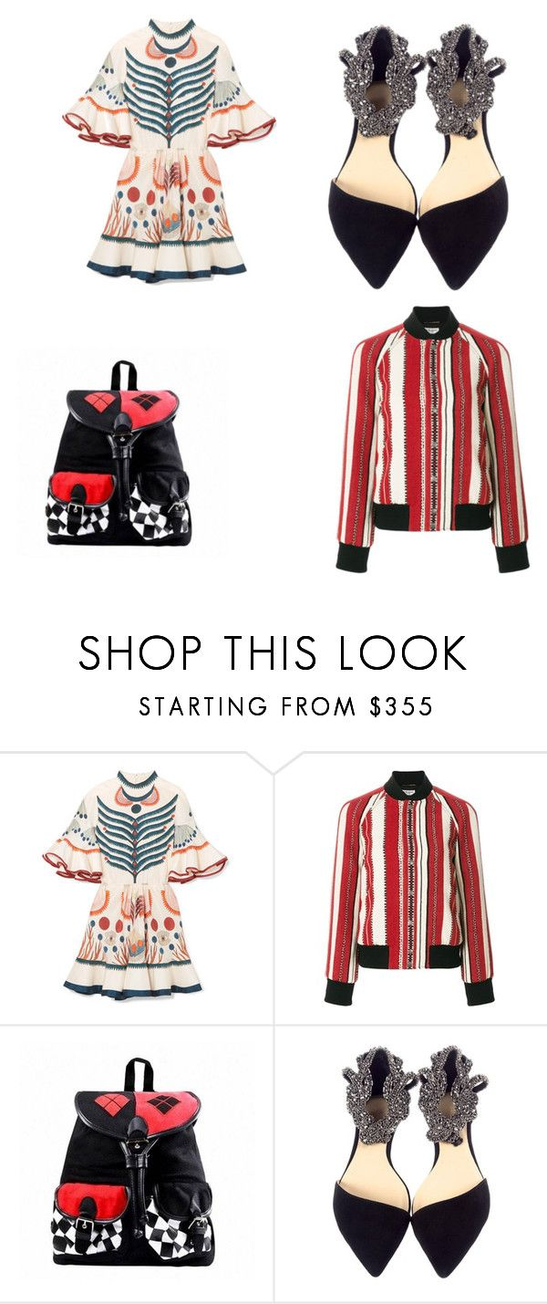 """the clown outfit"" by styleicon673 liked on Polyvore"