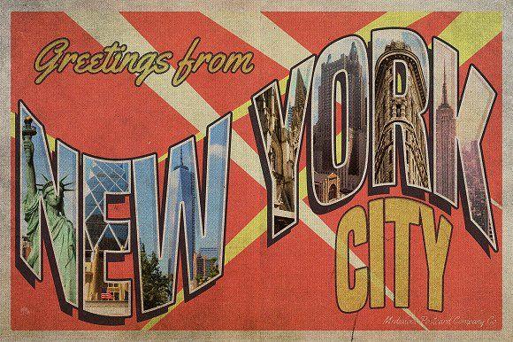 vintage greetings postcard generator cards retro postcards