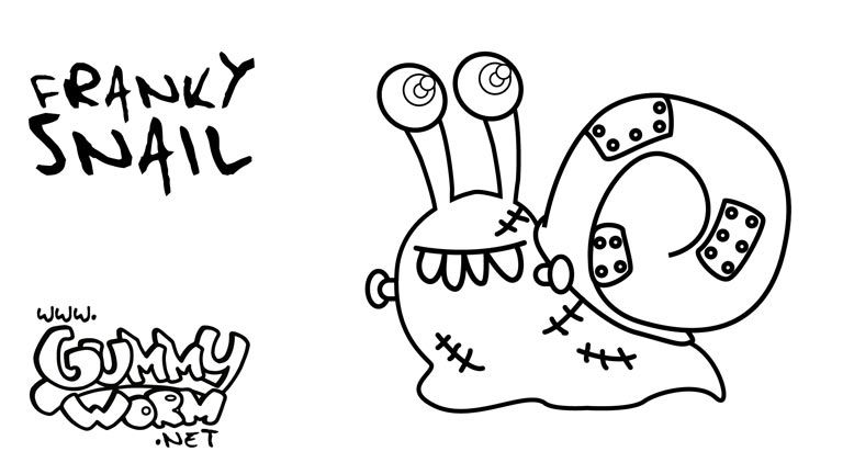 halloween printables templates coloring pages gummy worm friends costumes for halloween kids drawing - Halloween Pictures For Kids To Draw