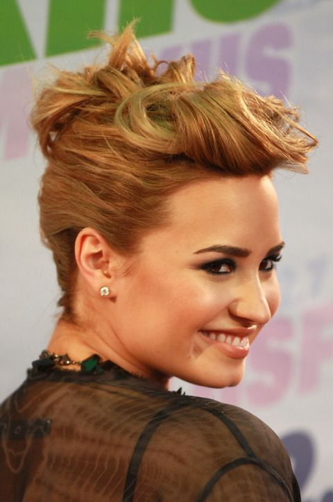Her hairstyle at the KIIS FM's Wango Tango this summer was elegant yet simple.