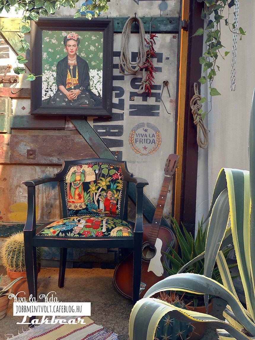 Viva la Vida! Frida Kahlo, 1 szék és 2 blogger