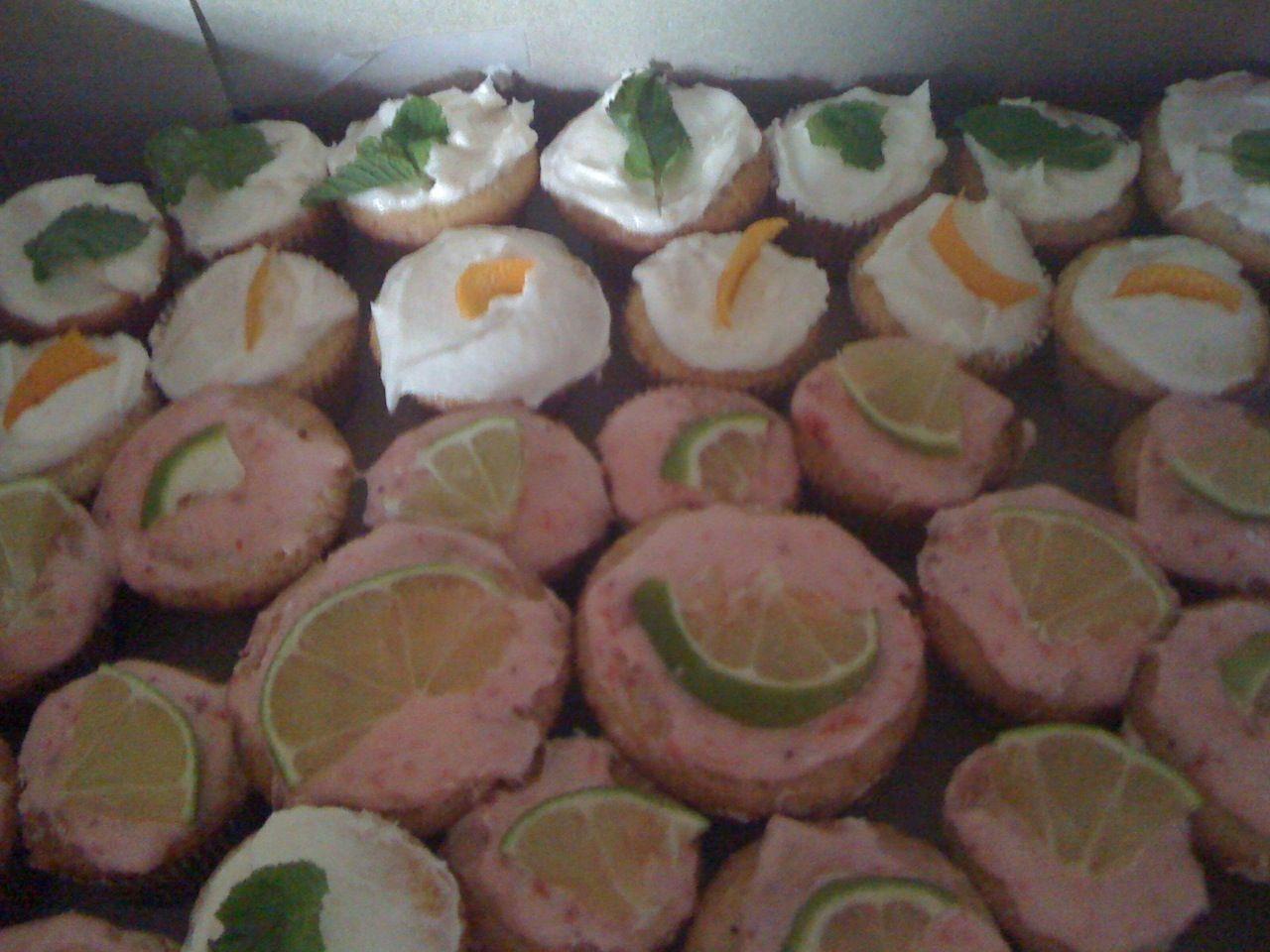 Easy mimosa cupcakes cake mix