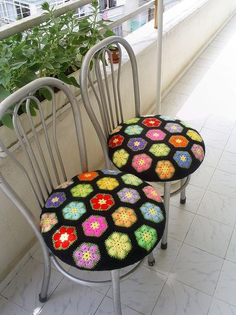 Where to buy Free Knitted Crochet African Flower Pattern Chair