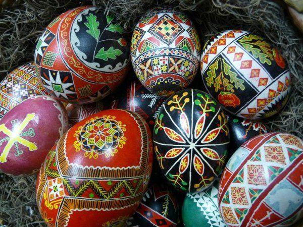 Frohe Weihnachten Ukrainisch.Frohe Ostern So Feiert Man Ostern In Europa Oster Dekor