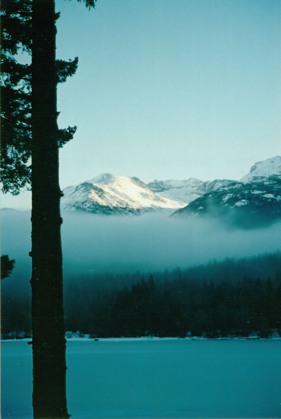 View of the Armchair Glacier, Whistler, B.C. Whistler