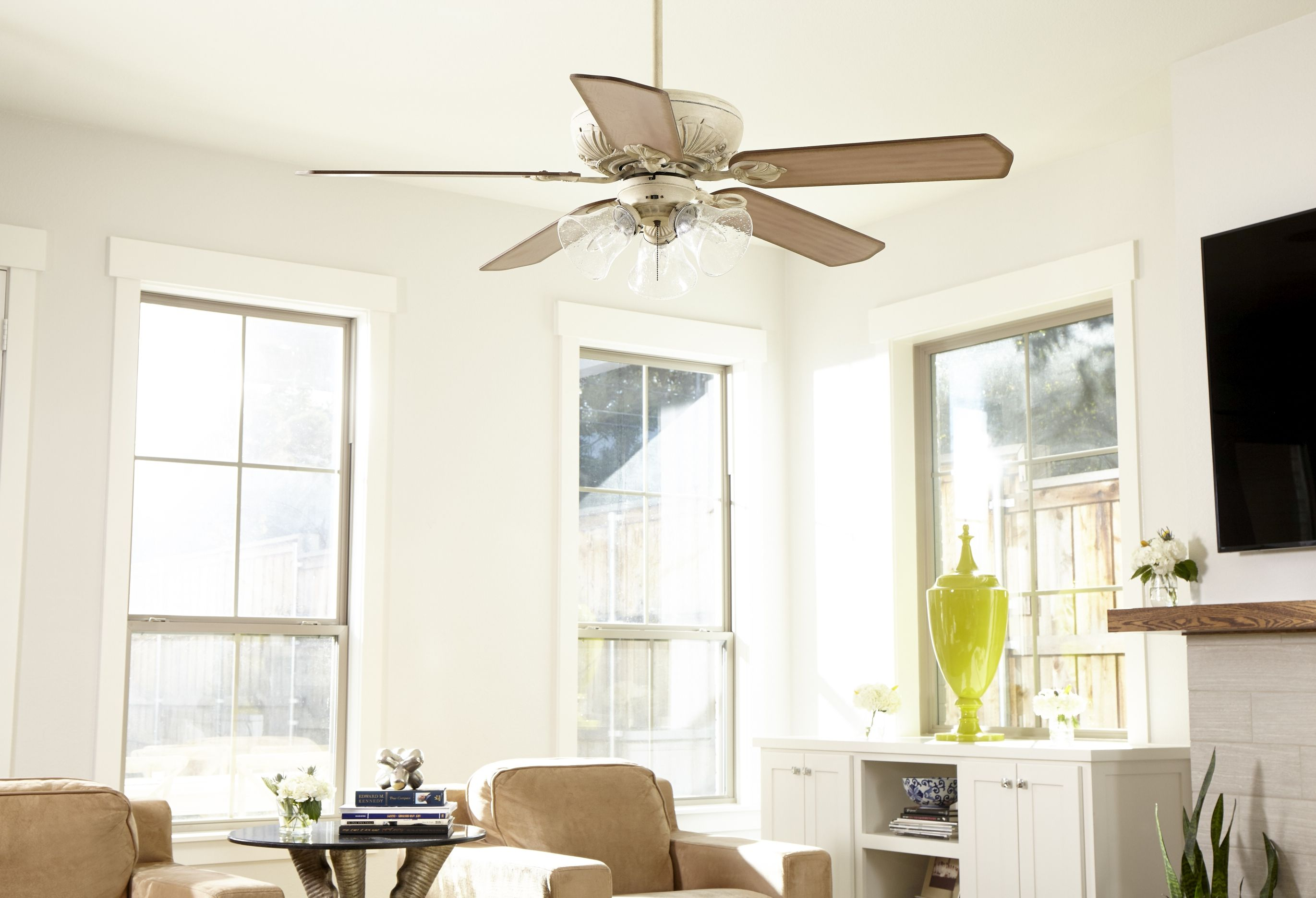 Quorum Chateaux Ceiling Fan