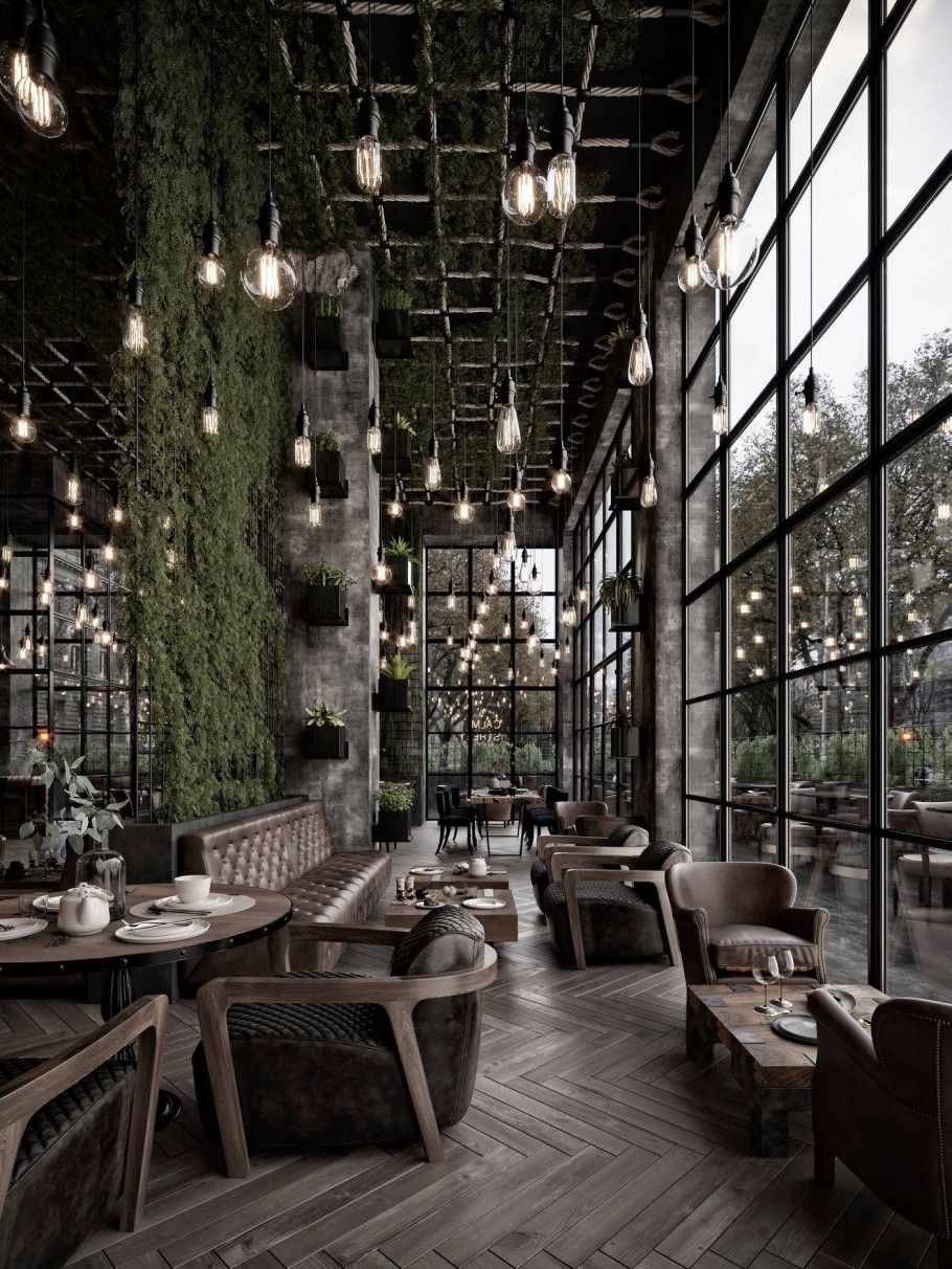 Ishe Architecture On Instagram Design Goals Tag Your Friends Credits To Designer A Coffee Shop Interior Design Cafe Interior Design Coffee Shops Interior