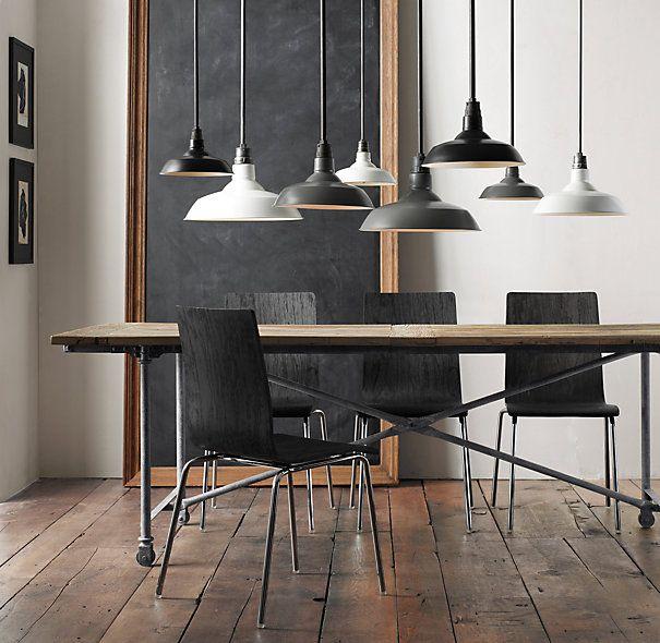 "Kitchen Table Door: Flatiron Dining Tables (6 Lengths--60-120""). Reclaimed Elm"