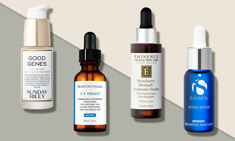 10 Face Serums That Will Banish Fine Lines And Wrinkles Face Serum Best Wrinkle Serum Anti Aging Skin Products