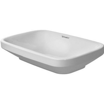 Duravit DuraStyle Rectangular Vessel Bathroom Sink with Overflow