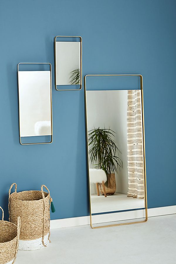 Midway Mirror by Anthropologie in Brown, Wall Decor