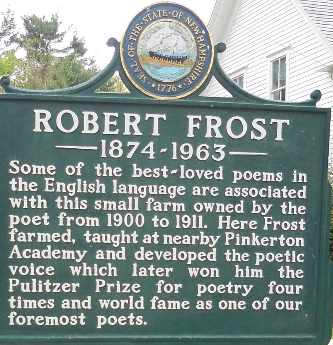 Robert Frost Farm Derry Nh New England Day Trips Derry New Hampshire