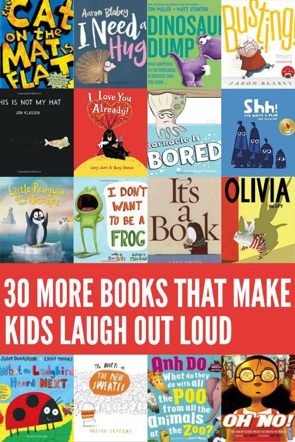 30 More Funny Books For Kids Preschool Books Funny Books For Kids Kids Reading