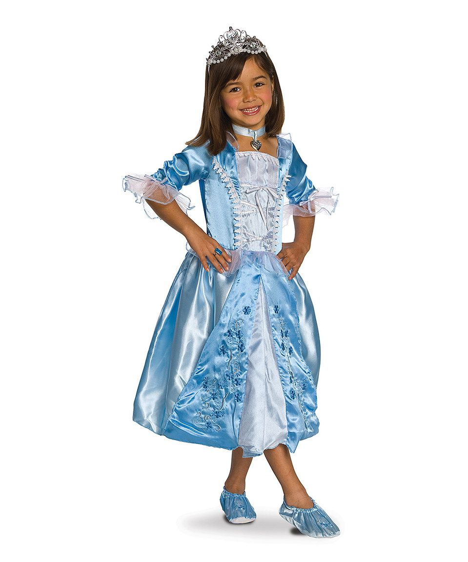 This Blue Rosebud Princess Dress-Up Set - Girls by Rubie\'s is ...