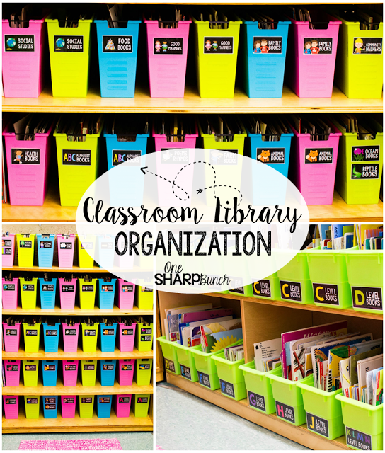 Classroom Library Organization and Kinder Craze Giveaway is part of Classroom Organization Library - Hi, friends! I'm here today to share all about how I organize my classroom library… AND to bring you a GREAT giveaway from fellow blogger Maria over at Kinder Craze! We were provided a copy of the Classroom Library Labels to give away  All views and opinions expressed are purely our own  When I shared …