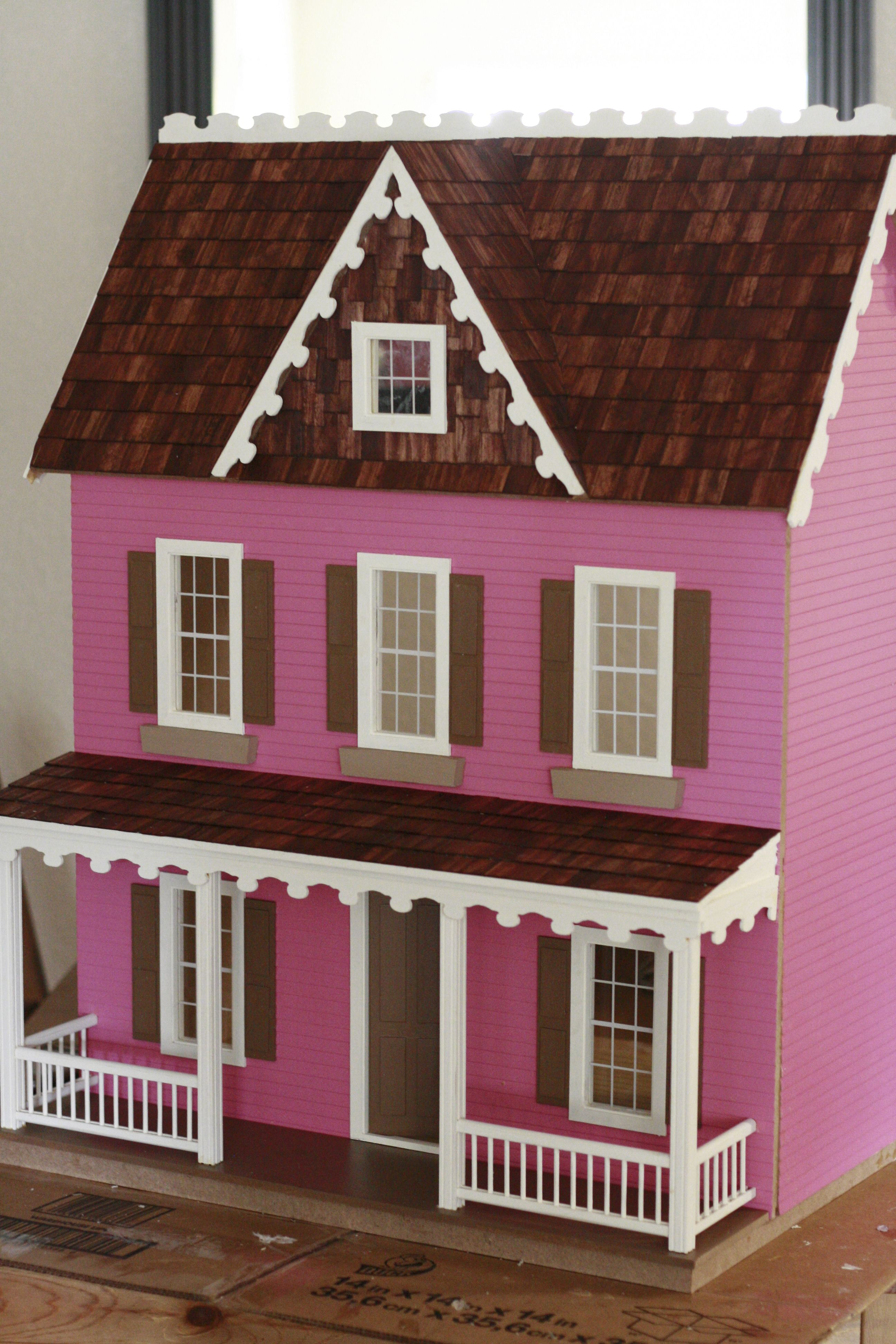 This Is The Vermont Farmhouse Dollhouse Came In A Box Kit I Built For My 6 Year Old Daughter We Hope It Lasts Good Long Time And Will Be Passed On