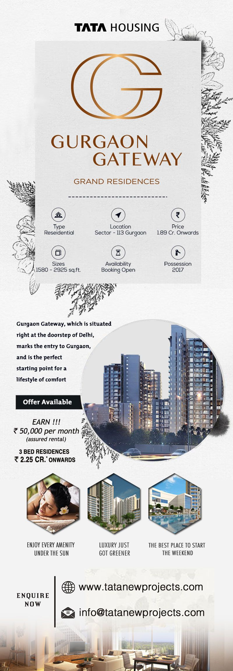 Pin By Tatanewprojects On Tata Gurgaon Gateway Tata Gurgaon Gateway