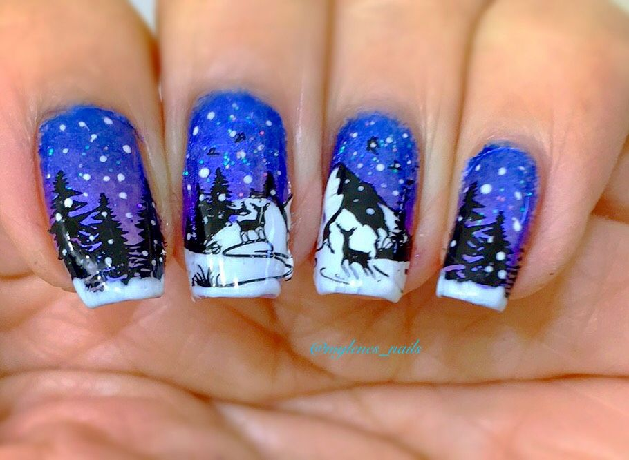 Winter Wonderland My Nail Arts Pinterest