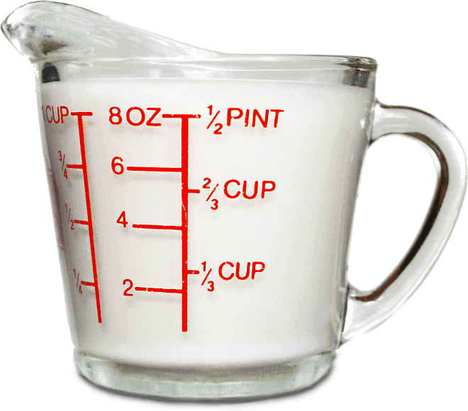 Conversion Charts Measuring Cups Cup Clip Art