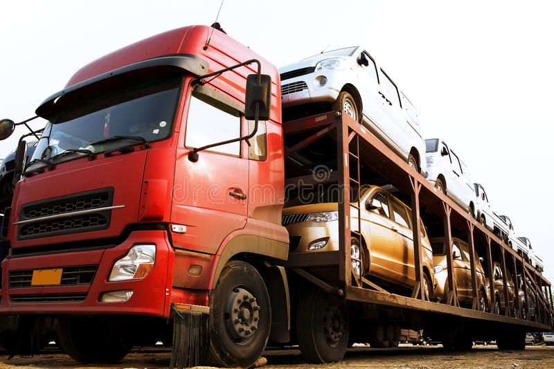 Transport cars Special car for transport of motor cars