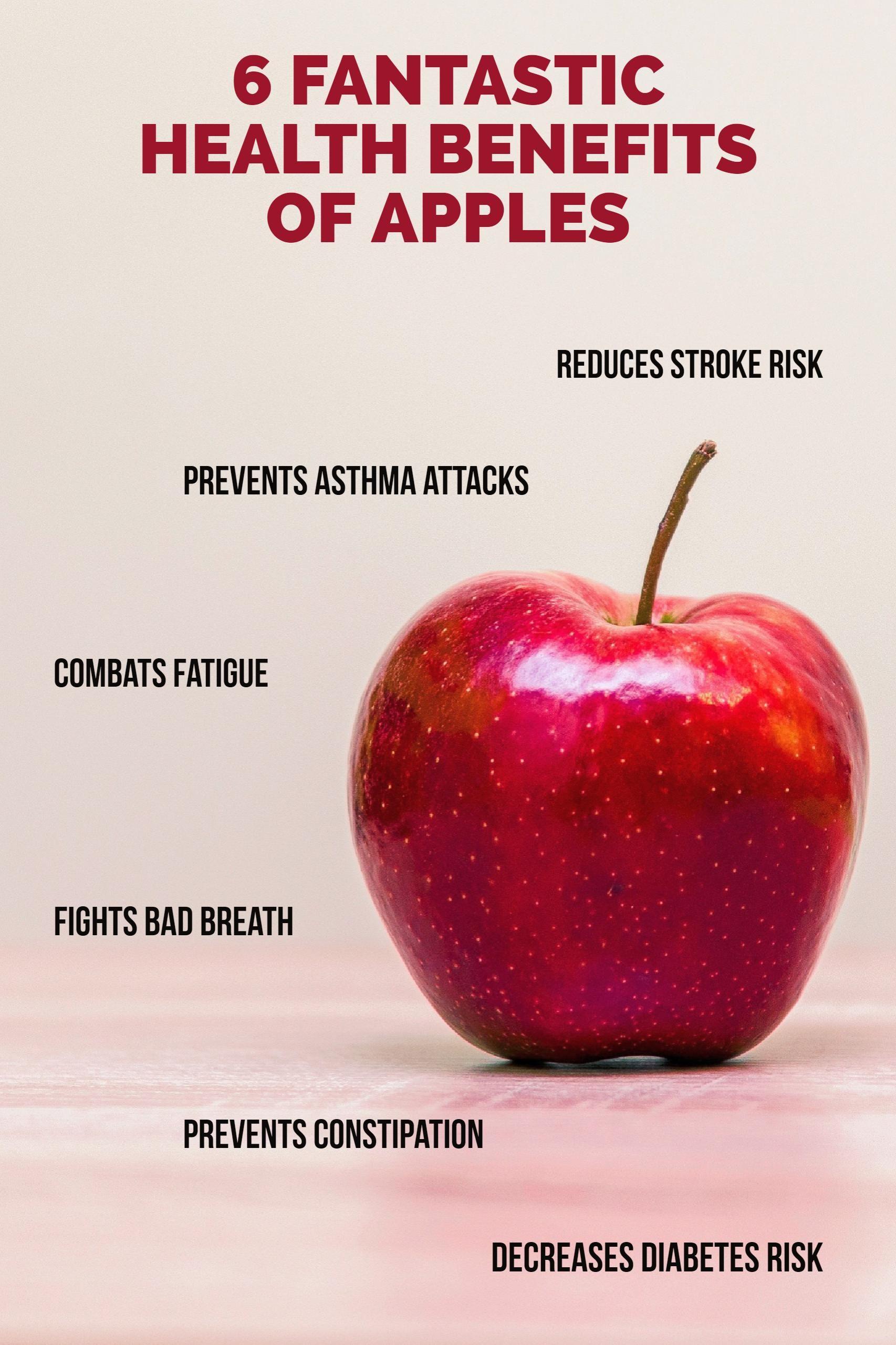 6 Fantastic Health Benefits of Apples