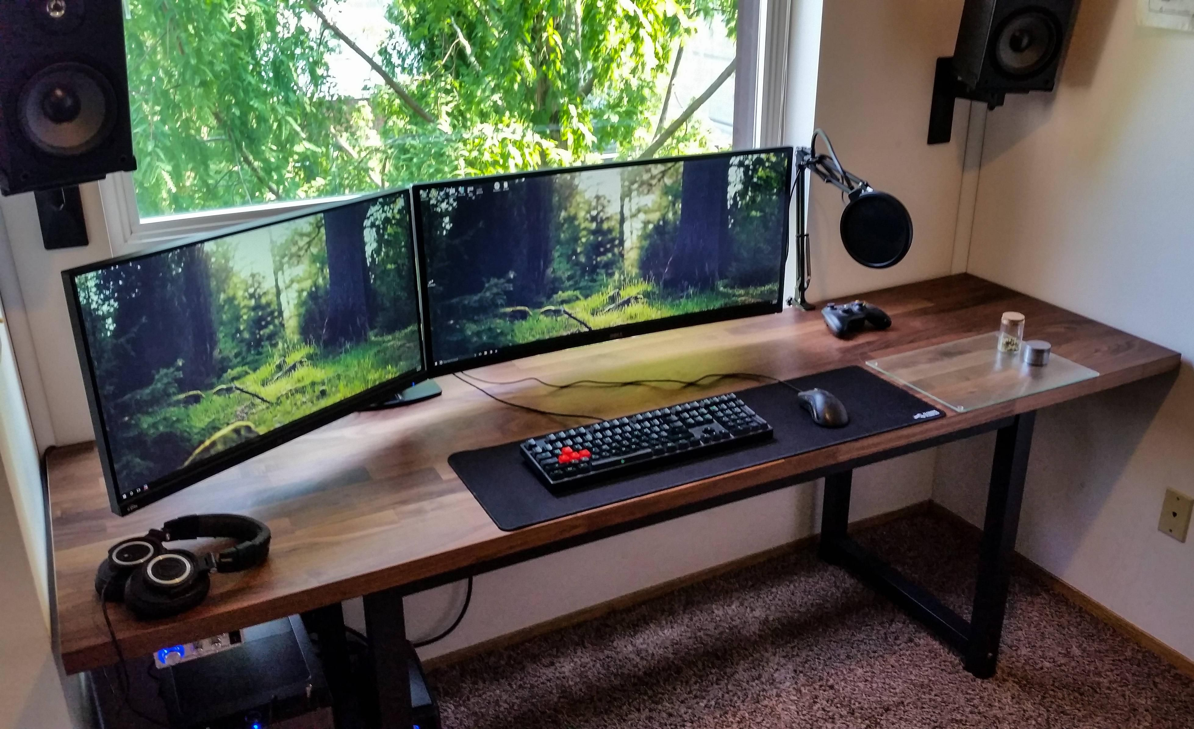 My first plete battlestation 20 years after I started building my