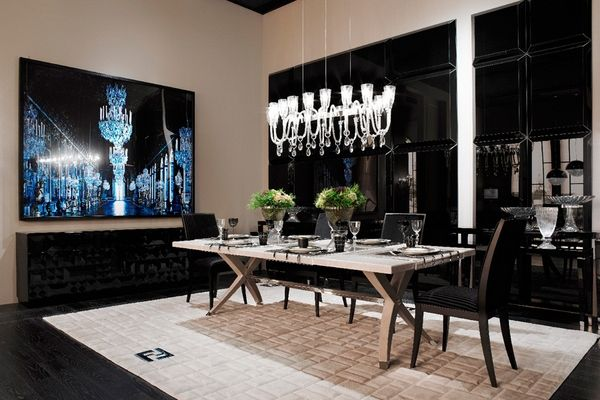 Fendi Home Collection by Fendi Casa Brunello table and Frangie