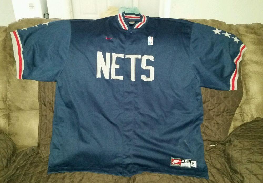 New Jersey Nets Jersey Team Sports Nike XXL 80  | eBay